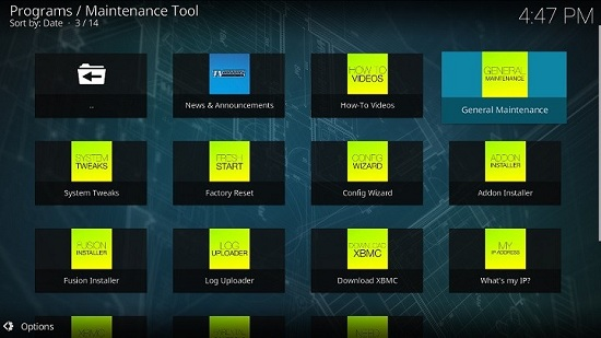 A Comprehensive Toolkit for Kodi Maintenance