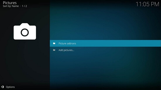 How to use kodi on android 2nd step