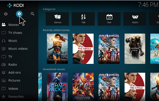 How to check kodi version on pc