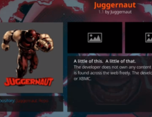 Install Juggernaut Addon