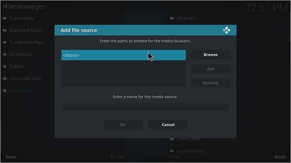 Step 2 How to watch fifa world cup 2018 on kodi krypton version 17.6 or lower