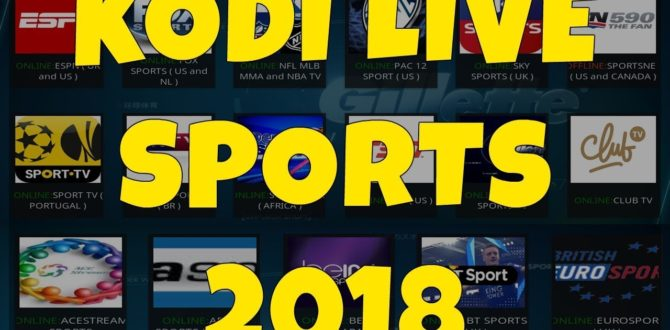 kodi addons for sports