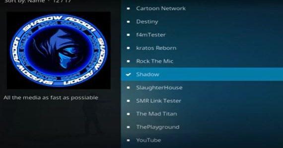 Shadow addon Not Working